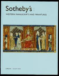 image of Western Manuscripts and Miniatures Auction Catalogue 6 July 2006