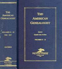 The American Genealogist: Volumes 21-23