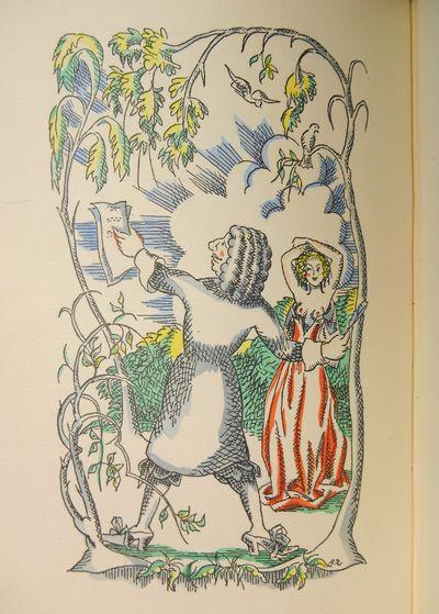 London: The Cresset Press Ltd. , 1928. Limited Edition. Vellum. Near fine. Rutherston, Albert. No. 3...
