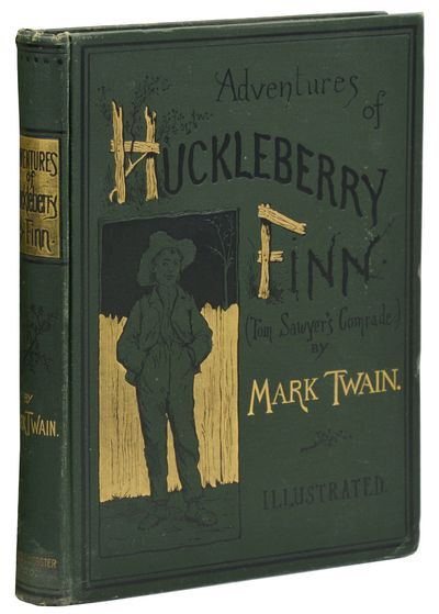 New York: Charles L. Webster and Company, 1885. First Edition. Hardcover. Near Fine. First trade edi...