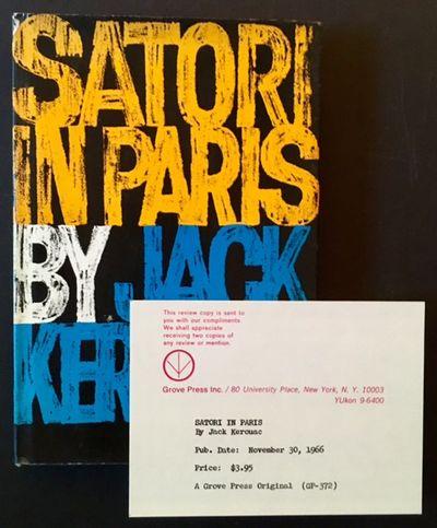 New York: Grove Press, 1966. Cloth. Near Fine/Near Fine. A tight, very sharp copy of the 1966 stated...