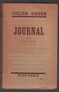 image of journal ** 1935-1939