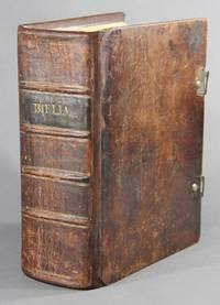 Biblia, das ist die ganze gottliche hielige Schrift alten und neuen Testaments nach der deutschen Uebersetzung D. Martin Luthers..