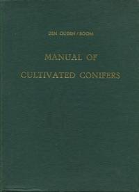 image of Manual of Cultivated Conifers