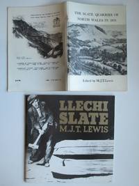 image of The slate quarries of North Wales in 1873: A series of letters by a  special correspondent of the Carnarvon and Denbigh Herald, with, LLechi  slate