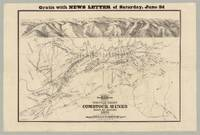 Gratis With News Letter of Saturday, June 3d...Graphic Chart of the Comstock Mines State of Nevada