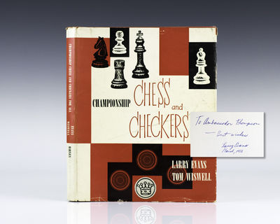 New York: A.S. Barnes and Company, 1953. First edition of this work by the chess grandmaster. Octavo...