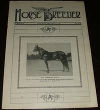 image of Vintage Issue of the American Horse Breeder Magazine for November 29th,  1916