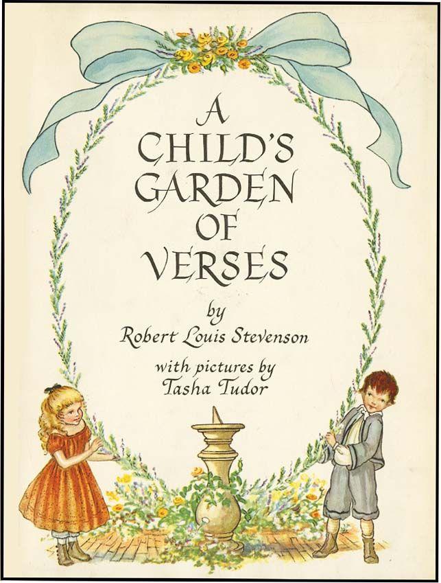 Child 39 S Garden Of Verses By Stevenson Robert Louis