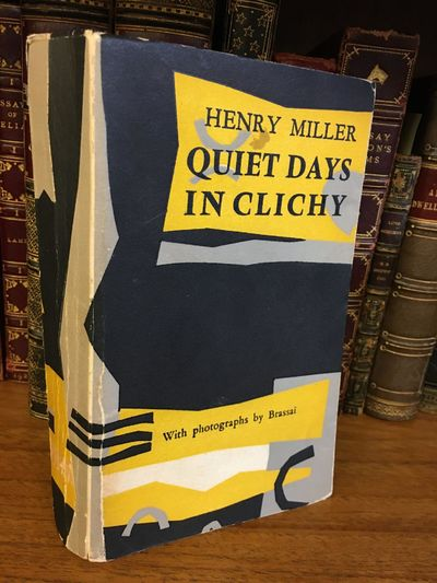 Paris: The Olympia Press, 1956. First Edition. 10mo., 171 pages; G-; in yellow, black, and gray wrap...