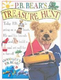 P B Bear's Treasure Hunt by Davis, Lee