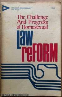 image of The Challenge and Progress of Homosexual Law Reform