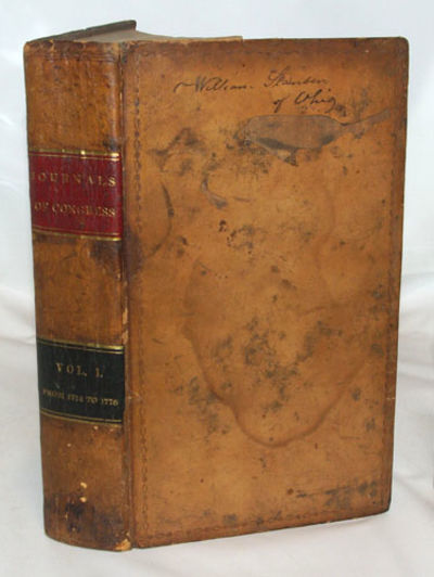 Washington, DC: Way and Gordon, 1823. First Edition. Very good in its original, full, light brown le...
