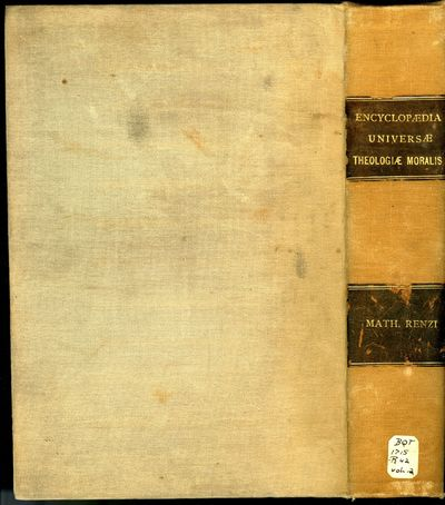 Naples: Carolum Porsile, 1676. First Edition. Hardcover (rebound in cloth). Very Good Condition. Reb...