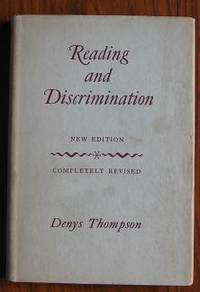 Reading and Discrimination by  Denys Thompson - Hardcover - 1955 - from C L Hawley (SKU: 9312)