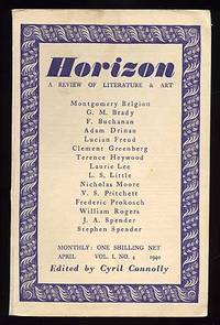 London: Horizon, 1940. Softcover. Near Fine. Vol. 1, no. 4. Near fine in wrappers, with the publishe...