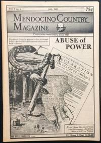 image of Mendocino Country Magazine. Vol. 3 no. 4 (July 1983)