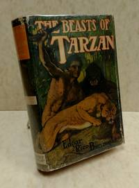 image of The Beasts of Tarzan (early Grosset and Dunlap reprint in dust jacket)