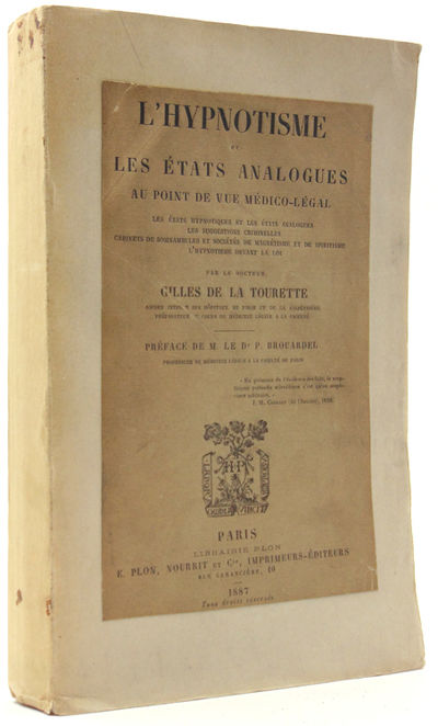 Paris: E. Plon, 1887. First edition. xv, 534pp. 8vo. Wrappers, with printed original upper wrapper l...