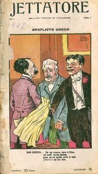 image of Jettatore. Semanario Ilustrado de Actualidades. Year I, No. 1 (7 March 1907) through Year I, No. 17 (24 June 1907) (all published)