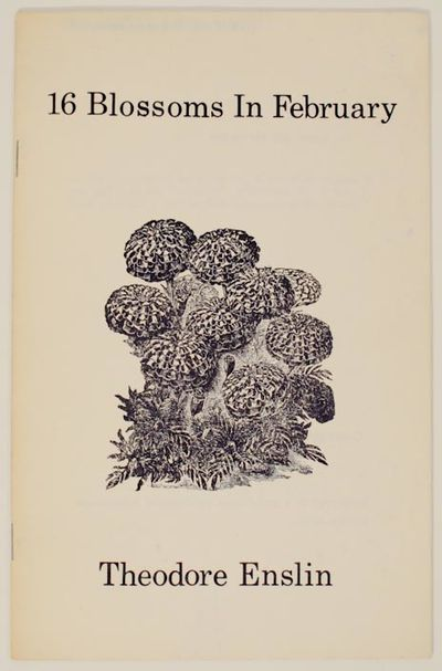 Brunswick, ME: Blackberry, 1978. First edition. Softcover. A slim book of poetry that is Blackberry ...