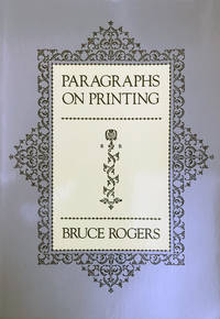 Paragraphs on Printing.