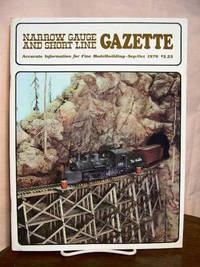 image of NARROW GAUGE AND SHORT LINE GAZETTE - SEPTEMBER/OCTOBER, 1978; VOLUME 4, NUMBER 4