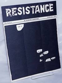 image of Resistance, an anarchist bi-monthly, vol. 11, no. 4, February, 1954