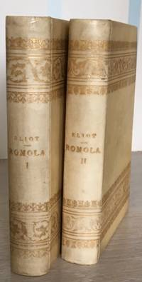 Romola by George Eliot,  Copyright Edition. In Two Volumes. [Vellum Bound Souvenir Edition; with Photographic Illustrations].