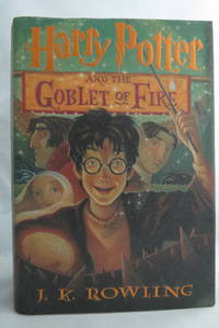 image of HARRY POTTER AND THE GOBLET OF FIRE  (DJ Protected by a Brand New, Clear,  Acid-Free Mylar Cover. )