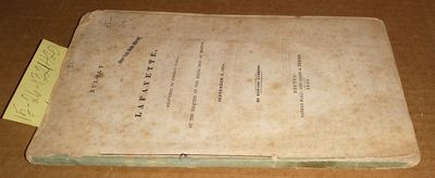 Boston: Nathan Hale; and Allen & Ticknor, 1834. Other. Booklet ; pp 104; Fair; blue spine without te...
