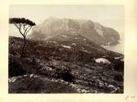 Capri. Panorama del Monte Solaro dalle rovine di Tiberio.