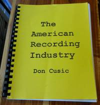 The American Recording Industry