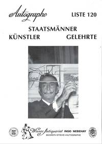 Liste 120/1999 : Staatsmänner, Künstler, Gelehrte.
