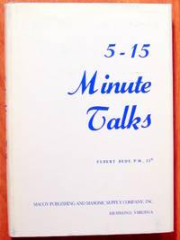 image of 5 - 15 Minute Talks.