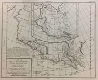 Carte De La Californie Et Des Pays Nord Ouest separes de L'Asie par le Detroit d'Anian
