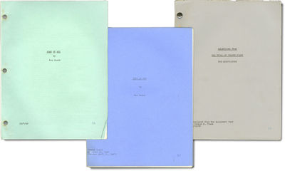 Los Angeles: Selznick International Pictures / Vanguard Films, 1946. An archive of 3 scripts relatin...