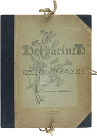 Herbarium and Record of Analysis