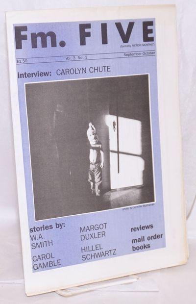 San Francisco: D. C. Gabbard, publisher, 1985. Newspaper. 16p. folded tabloid newspaper, fiction, re...