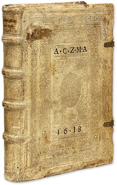 1606. Frankfurt, 1606.. Frankfurt, 1606. Studies of Feudal Law by a Notable Humanist Scholar-Jurist ...