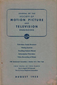 image of IMAGE GRADATION, GRAININESS AND SHARPNESS IN TELEVISION AND MOTION-PICTURE SYSTEMS. Part III: The Grain Structure of Television Images. (In Society of Motion Picture and Television Engineers Journal, Vol. 61, No. 2, August 1953.