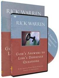 God's Answers to Life's Difficult Questions Study Guide with DVD by Rick Warren - Paperback - 2013-07-03 - from Books Express (SKU: 0310681529n)