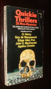 image of Quickie Thrillers 25 Mini-Mysteries