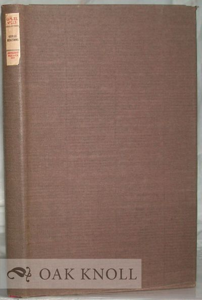 Garden City: Doubleday, Page & Co, 1923. cloth-backed boards, paper spine label, dust jacket, paper ...