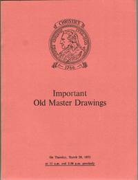 Important Old Master Drawings. 20 March 1973.