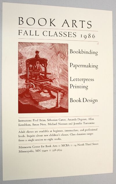 : Coffee House Press, 1986. 11.5