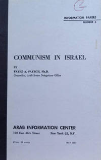 image of Communism in Israel:  Information Papers Number 4