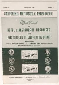 The catering industry employee. Vol. 56 no. 9 (Sept. 1957)