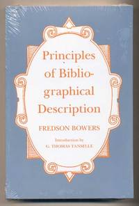 Principles of Bibliographical Description