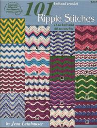 101 ripple stitches: Knit and crochet